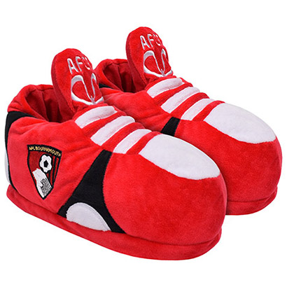AFC Bournemouth Kids Novelty Football Slippers