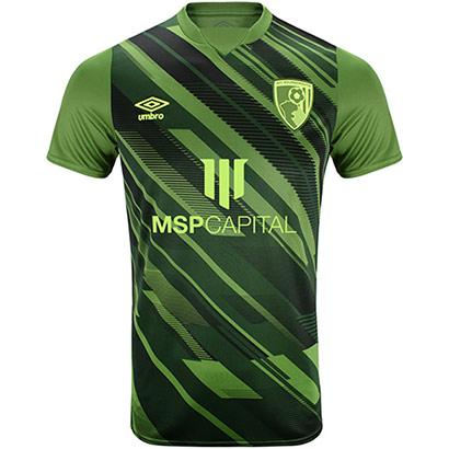 AFC Bournemouth Mens Third Shirt 21/22 - Green