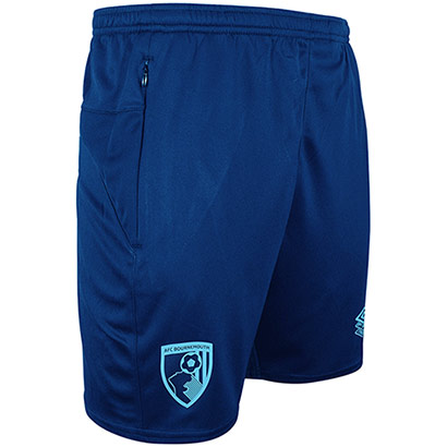 AFC Bournemouth Adults 21/22 Training Shorts - Navy Blue