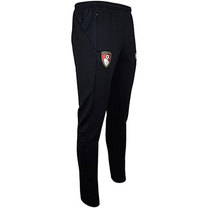 AFC Bournemouth Childrens 21/22 Training Tapered Pants - Black