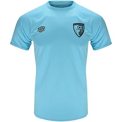 AFC Bournemouth Childrens 21/22 Training T Shirt - Light Blue