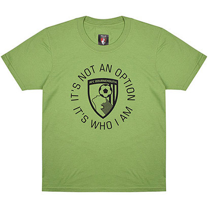 AFC Bournemouth Kids Vital T Shirt - Green