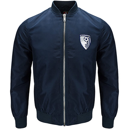 AFC Bournemouth Adults Waterton Jacket - Navy