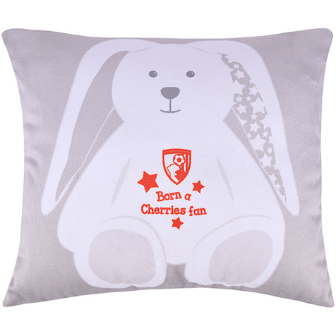 AFC Bournemouth Plush Baby Rabbit Cushion