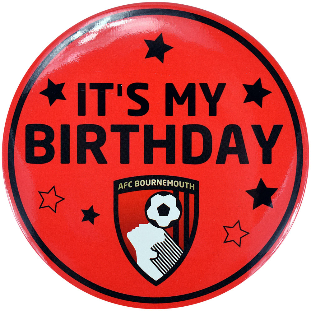 AFC Bournemouth Large Birthday Badge