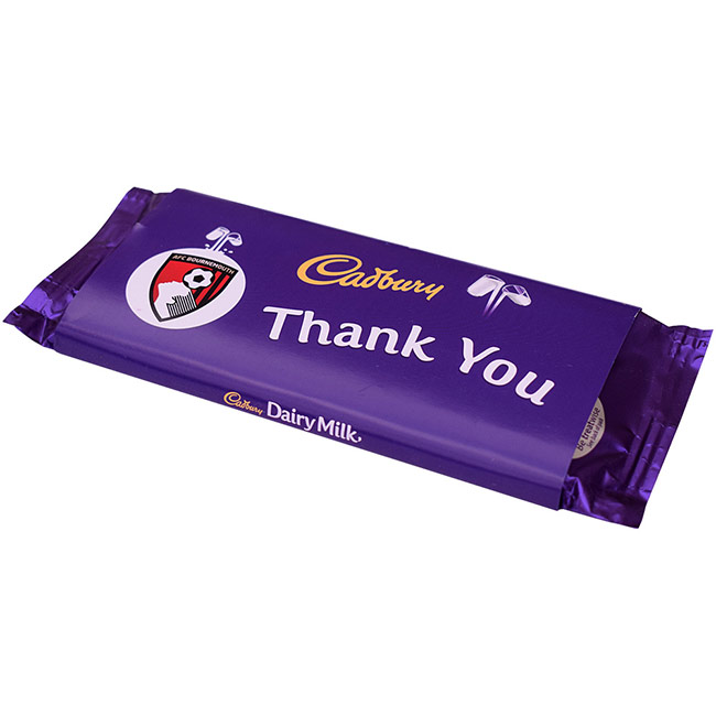 Cadbury Thank You Chocolate Bar