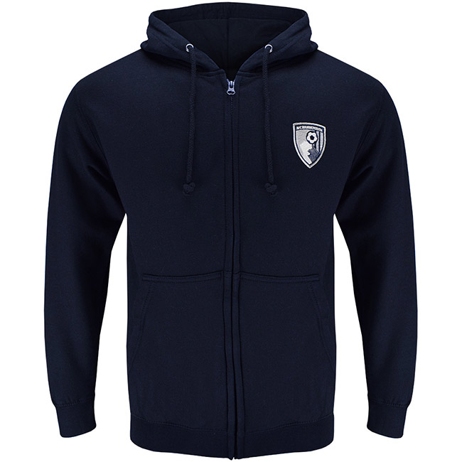 Adults Core Zip Hoodie - French Navy