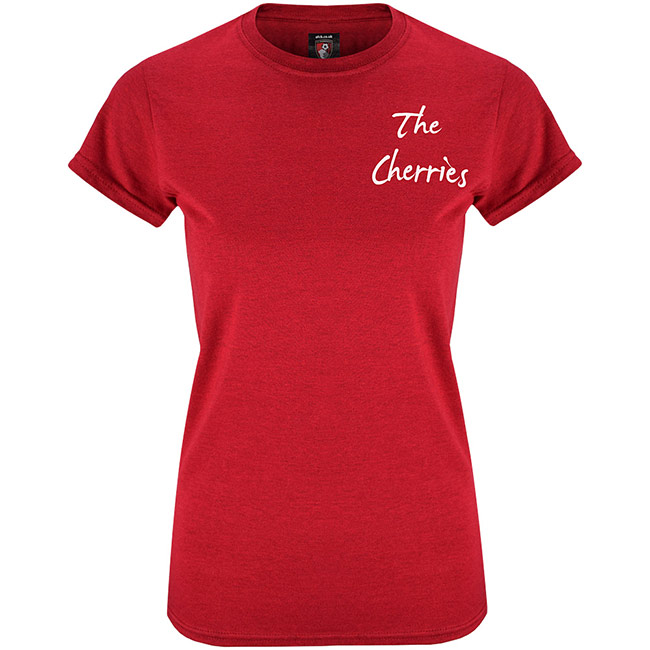 Womens Summer T Shirt - Dark Red