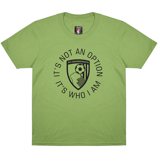 Kids Vital T Shirt - Green