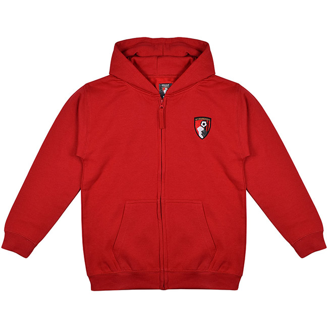 Kids Weekender Full Zip Hoodie - Red