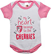 2 Pack Baby Bodysuit - Pink / White