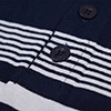Youths Control Polo Shirt - Navy / White