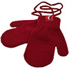 Infants Mittens - Red