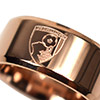 Rose Gold Plated Crest Ring