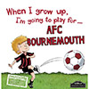 When I Grow Up Im Going To Play For AFCB Book